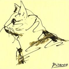 Picasso, when lines convey so much more than what it seems.