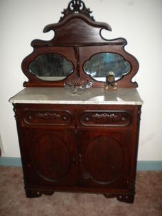 Cool antique sideboard -