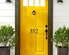 Image result for numbers on door of house