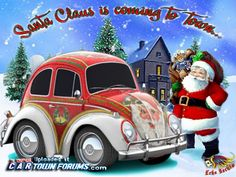 "christmas volkswagen pictures | St.Claus's coming"" - Downloads - Car Town Forums, Car Town Skins and ..."