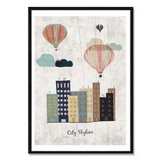Affiche city skyline - a télécharger