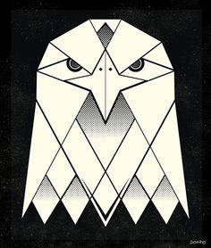 geometric eagle - Google Search