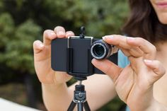A telephoto lens for your iPhone - how cool!