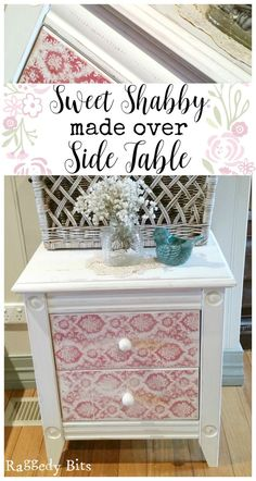 After finding a side table at a local garage sale for $5, I wanted to share how to give any piece of furniture you may find a sweet shabby made…
