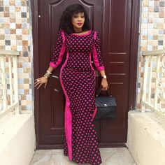 25 Latest Ankara Long Gown Styles For African Slay Queens (Photos) from Diyanu - Ankara Dresses, Shirts & African Dresses For Women, African Print Dresses, African Print Fashion, Africa Fashion, African Attire, African Wear, African Fashion Dresses, Ghanaian Fashion, African Prints