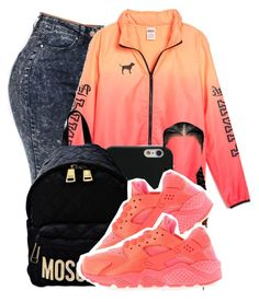 """Like it Up"" by f0rever-d ❤ liked on Polyvore featuring Givenchy, Moschino and NIKE"