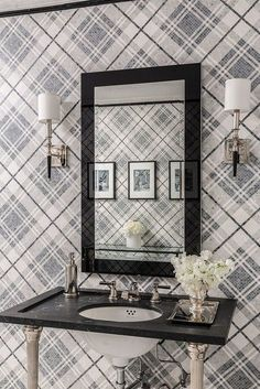 TREND: Plaids — Statements in Tile/Lighting/Kitchens/Flooring