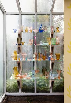Marc Camille Chaimowicz, 69 Pieces of Coloured Glass (For BP), 2016 (Tears Shared Marc Camille Chaimowicz, Colored Glass, Art Direction, Interior Architecture, Vase, My Love, Exhibitions, Flat, Coloured Glass