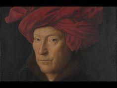 Jan van Eyck, Portrait of a Man in a Red Turban (Self-Portrait?), 1433 - YouTube
