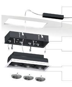 Eurofase Multiple Trimless Recessed Lighting Installation Instructions - Brand Lighting Discount Lighting - Call Brand Lighting Sales 800-585-1285 to ask for your best price!