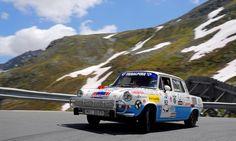 Škoda 1000 MB (a další) na startu rallye AvD Histo-Monte