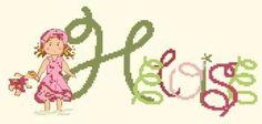 Cross Stitch For Kids, Embroidery, Blog, Punto De Cruz, Dots, Patterns, Cross Stitch, Calligraphy, Sweet Treats
