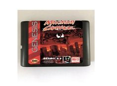 Spider-Man and Venom Maximum Carnage 16-Bit Sega Genesis Mega Drive Game Reproduction (Tested Working)  (Please take note that this item is coming from Hong Kong, China and delivery takes 11 to 24 working days)  Description:  - This is a REPROD...