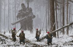 January 1863, Jakub Rozalski on ArtStation at https://www.artstation.com/artwork/ePwZZ