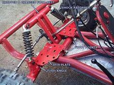 how to make a steering for a go kart Go Kart Steering, Garage Shop, Mini, Tractor, Image, Cart, Hunting, Metal, Building