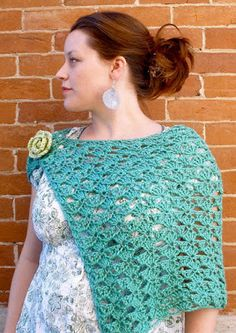 Fiber Flux: Spring Shawls! 12 Beautiful & Free Crochet Patterns...