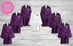 Bridesmaid Robes Bridesmaids Gifts Personalized Satin
