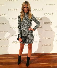 Brooke Hogan in the Wynona Dress now avaialbe in Boutiques and Online xx