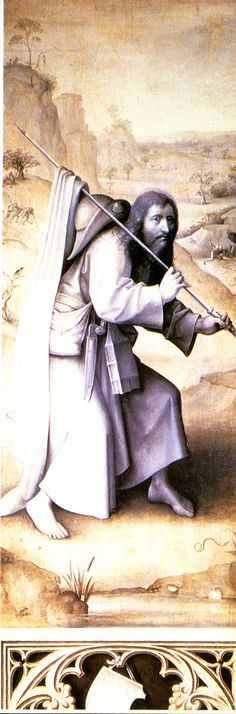 Saint James the Greater. Hieronymus Bosch.