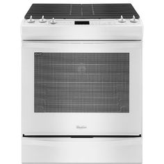 Whirlpool - WEG730H0DW - 5.8 cu. ft. Slide-In Gas Stove w/ TimeSavor™ Convection - White | Sears Outlet