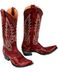 ALL I want in life is a pair of red cowgirl boots | my dream