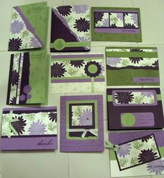 Pretty Amazing, One Sheet Wonder by laughingLARGE - Cards and Paper Crafts at Splitcoaststampers