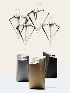 """Umbravase"" umbrella stand by Luca Nichetto"