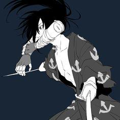 Hyakkimaru. All Anime, Anime Manga, Anime Guys, Anime Art, Tokyo Ghoul, Manhwa, Samurai Anime, Anime Character Drawing, Gurren Lagann