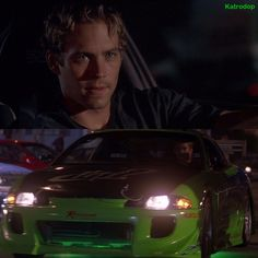 Paul...The Fast and The Furious