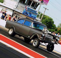'55 Chevy blown gasser
