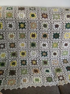 GeHaakt door Marijtje: Pattern Granny Square blanket