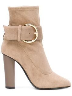 Shop Giuseppe Zanotti Design square toe ankle boots.