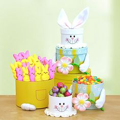 This would make such a lovely gift for a friend, neighbor, caregiver, teacher or anyone else in your life that you want to show appreciation to this Easter! This Bunny Tower of Sweets is from Cost Plus World Market, and it sure is adorable. :)