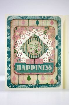 Card by Shellye McDaniel created with @Sunčica Sikirić Paper Seasons: Spring Collection.  Kit available at Scrapbooker's Emporium @ Etsy