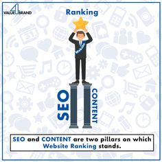 Get SEO and CONTENT strategies that can move your website up in search engine ranking. Website Ranking, Brand Management, Digital Marketing Strategy, Good Company, Search Engine, Seo, Social Media, Content, Social Networks