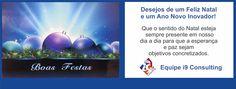 Cartão de Boas Festas 2015 da Equipe i9 Consulting