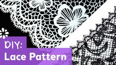 How to Draw Lace Pattern | Sea Lemon