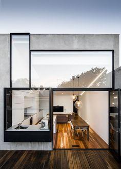 Turner House, Melbourne, Australia #IdeasenOrden #closets #arquitectura: