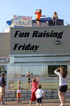 Fun Raising Friday - 10 fun fundraisers ideas from across the country. #fundraising