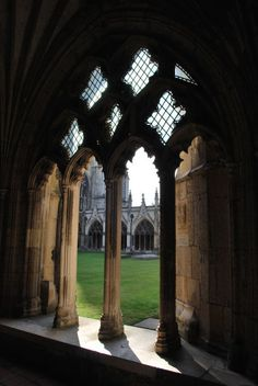 Canterbury Cathedral, England  photo via anatasia