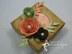 Jardin de papier - Stampin' UP! - L'art de créer avec Stampin' UP!  #diy, #box, #stampinup, #bigshot, #jardindepapier