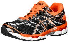 ASICS Men's Gel-Cumulus 16 Lite-Show Running Shoe,Onyx/Black/Flash Orange,10 M US