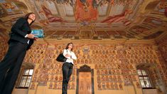Wappensaal im Landhaus Klagenfurt Klagenfurt, Skiing, Painting, Crests, Farmhouse, Ski, Painting Art, Paintings, Painted Canvas