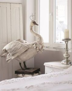 Last Trending Get all images taxidermy home decor Viral ac eab a c d a b Taxidermy Decor, Faux Taxidermy, Funny Taxidermy, Textile Sculpture, Soft Sculpture, Mister Finch, Vibeke Design, Paperclay, Shades Of White