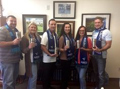Check out the yeti 20 oz. tumblers and scarves we got as gifts from Agera Energy ! Thank you guys!