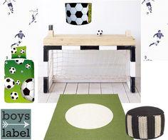 Voetbalkamer, jongenskamer