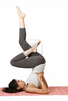 I love doing this in the morning or when I am stressed. It relieves tension within the entire body and the mind. This pose also stimulates the thyroid gland.