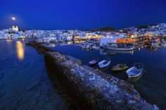 Paros Island - Naoussa Village (Cyclades, Greece)