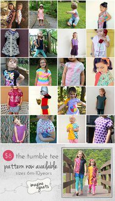 imagine gnats: tumble tee tour wrap-up #sewing #tumbletee
