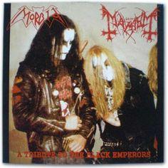 Mayhem / Morbid - a tribute to the black emperors.  RIP Dead & Euronymous.